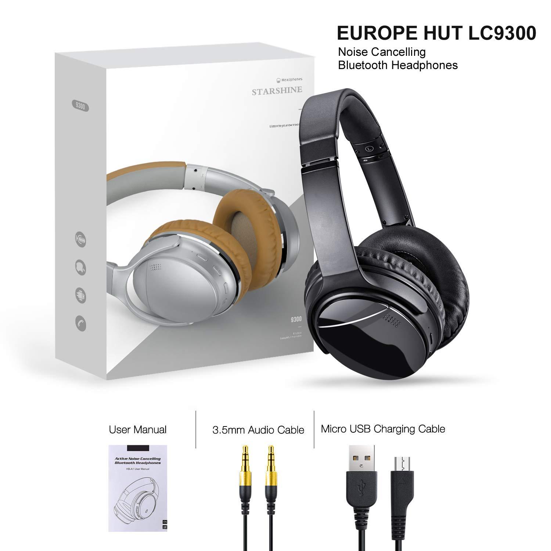 Micro SD/TF EUROPE HUT LC-9300 Bluetooth Wireless Kopfhrer Over ...