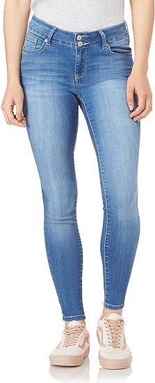 WallFlower Womens High-Waisted Instasoft Sassy Skinny Jeans