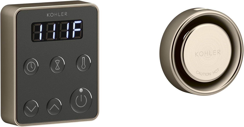 KOHLER K-5557-BV 5557-BV Invigoration Control KIT, Single, Vibrant Brushed Bronze