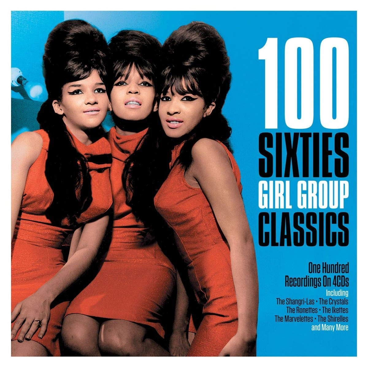 CD : VARIOUS ARTISTS - 100 Sixties Girl Group Classics /  Various (United Kingdom - Import)