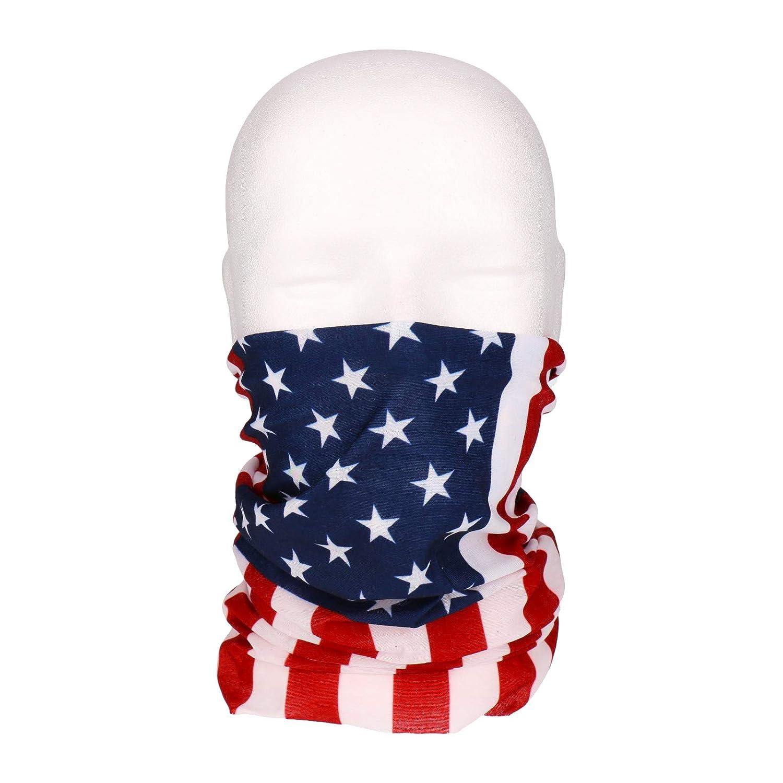 Sturmhaube Piratentuch Stirnband Schlauchschal GEORGES Multifunktionstuch Halstuch in vielen verschiedenen Designs vielseitig einsetzbar