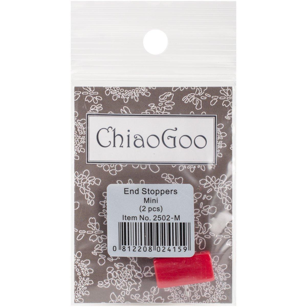 acr/ílico Juego de 6 ChiaoGoo Final Tapones Mini