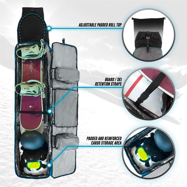 snowboard gear bag