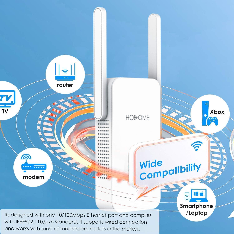 Hosome Repetidor WiFi 5GHz / 2.4GHz Amplificador WiFi ...