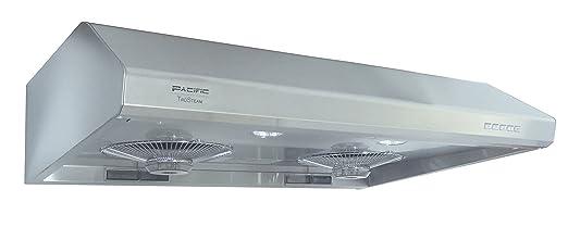 Pacific Trusteam SC8130S Whisper Quiet Steam Clean Range Hood (30u0026quot;,  Stainless Steel