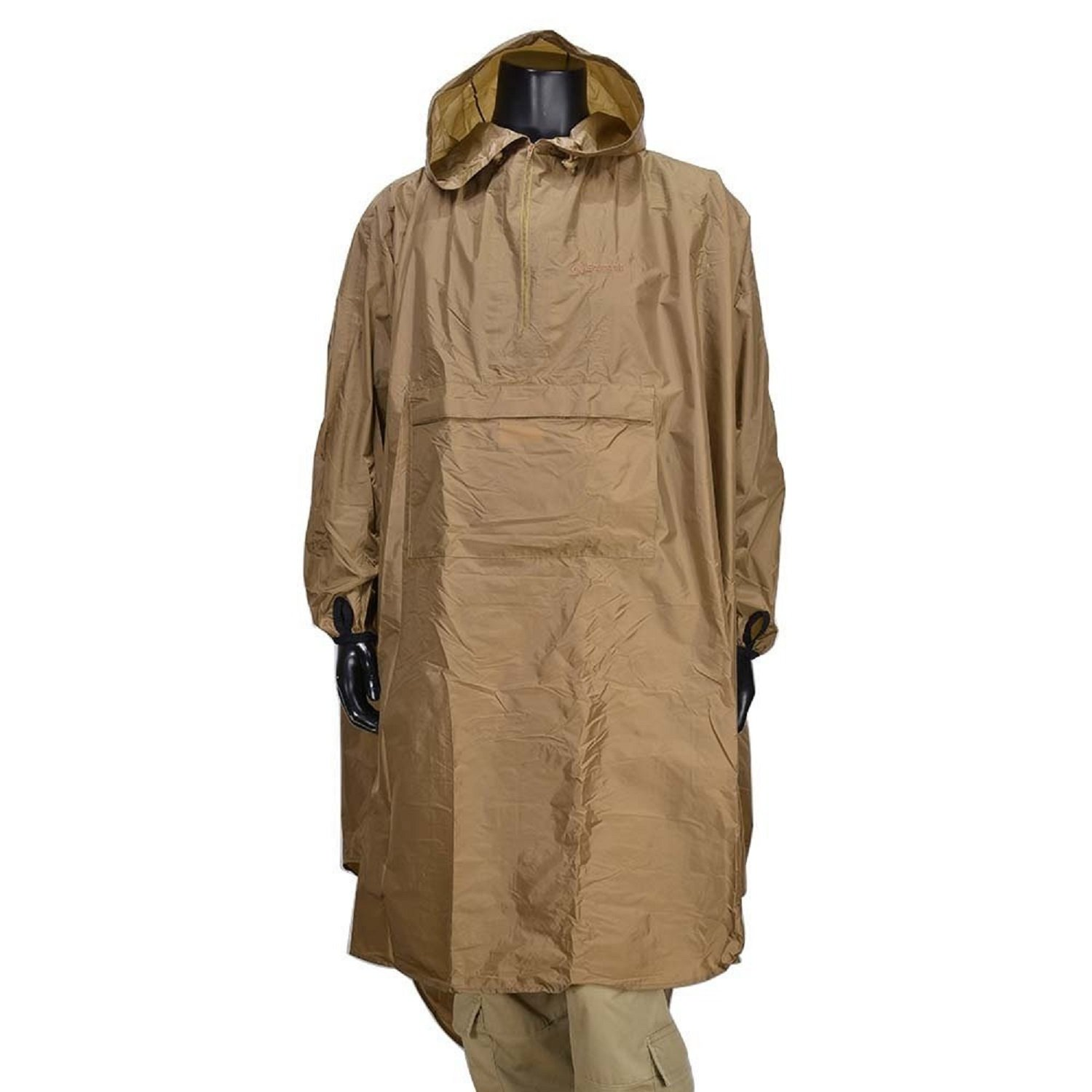 Snugpak Patrol Poncho, Waterproof, One Size, Lightweight, Suitable for Hiking, Camping, and Hunting, Coyote Tan by Snugpak