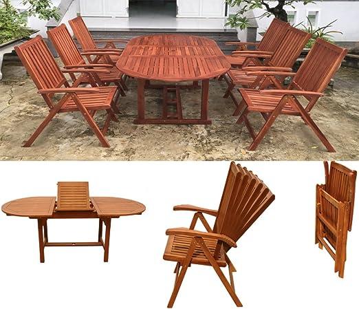 Mobiliario de jardín Asiento Grupos Juego de muebles de jardín ...
