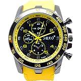 SMTSMT Stainless Steel Sport Modern Men Fashion Wrist Watch - Yellow