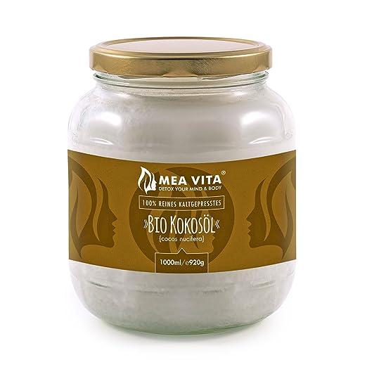 24 opinioni per Raw Cocco Vergine Biologico MeaVita, 1 Litre (1 x 1000 ml)