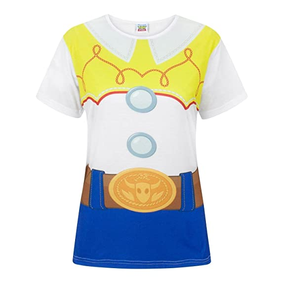 Disney Toy Story Jessie Costume Women s T-Shirt  Amazon.es  Ropa y  accesorios ee00bddb6e6