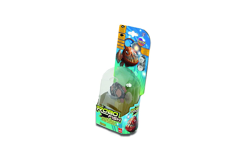 Goliath 32673 Robo Poisson Deep Sea Anglerfish en Marron