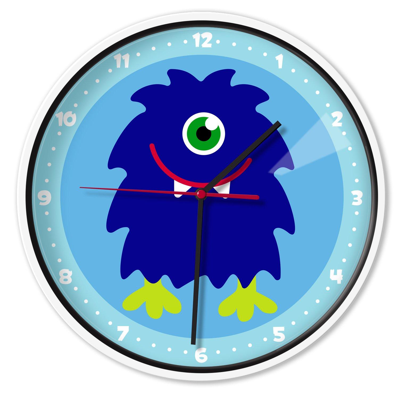 Wildkin Monsters Wall Clock, One Size