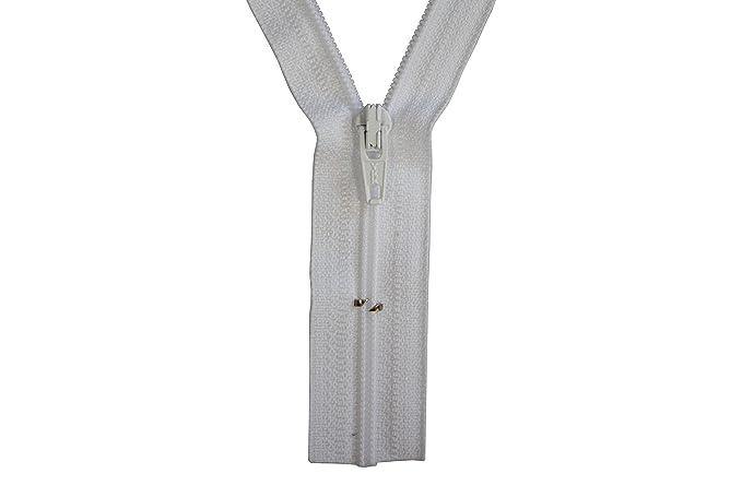 Reißverschluss Kopfkissen Bettwäsche schließbare Länge  90 cm rosa
