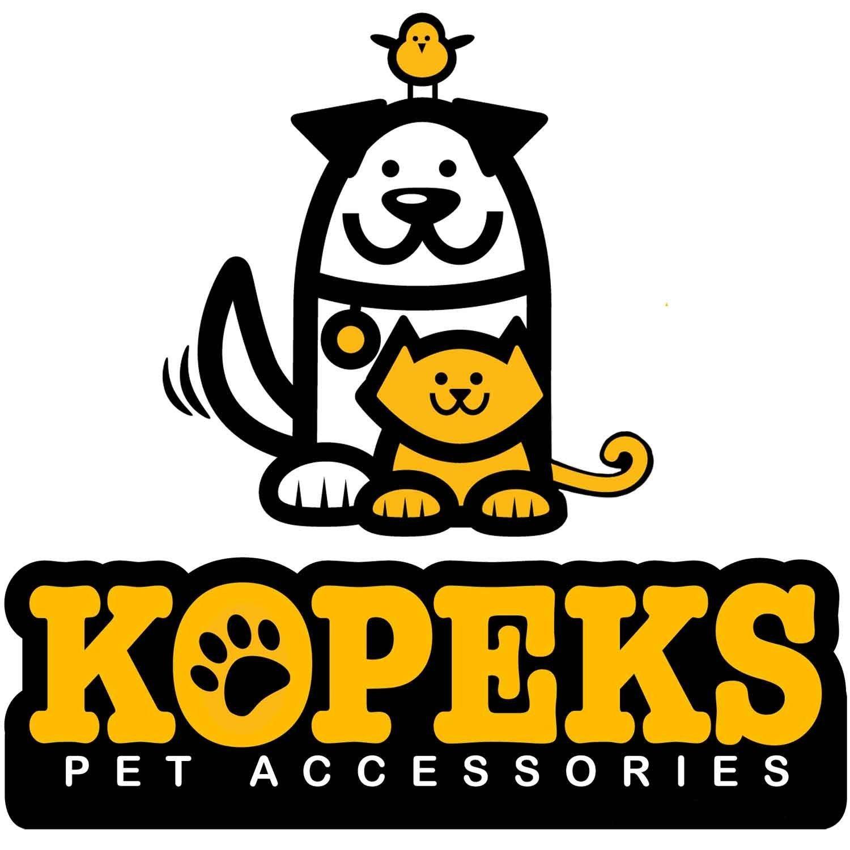 KOPEKS Funda Protectora para Asientos de Coche para Perros con Anclajes al Asiento y a los Reposacabezas Acolchada Antideslizante y Resistente al Agua Marr/ón