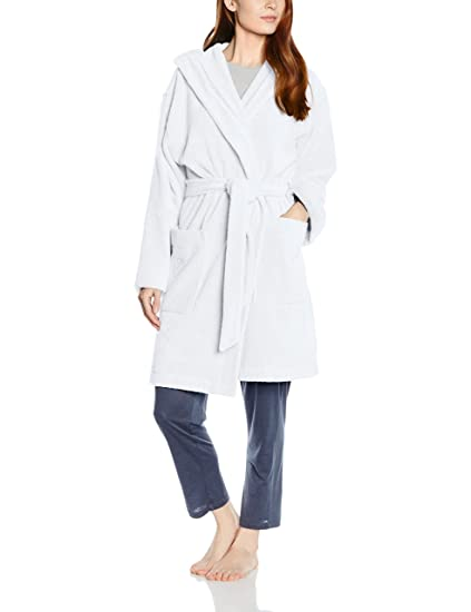 Féraud Womens Dressing Gown Turquoise Feraud Amazoncouk Clothing