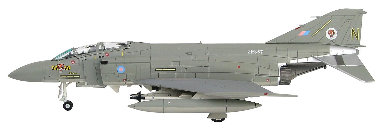 Diecast F4J Phantom, ZE357, No. 74 Sqn, RAF, Wattisham, 1985 grigio tailed version  1 72 Scale Kit