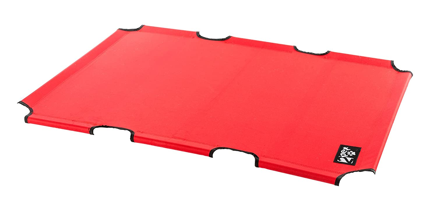 Elevated Pet Bed by 2pet replacement fabric for EPB06 Extra Large Red