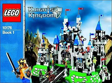 Amazon Instruction Manuals For Lego Castle Set 10176 Royal