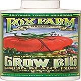 Fox Farm 6-4-4, 1-Pint FX14092 Grow Big Liquid Concentrate Fertilizer, Soil NPK 6-4