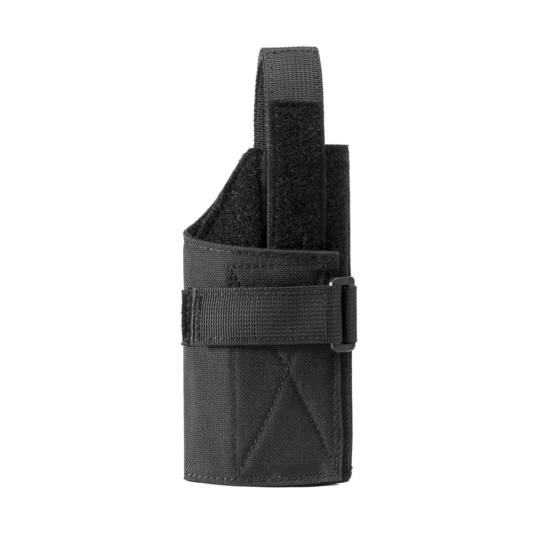 1T compacto pistola Holster Molle Cinturón Holster Para Glock 262728293033363943, Negro , 15,2(H) x 7,6cm(B) Negro