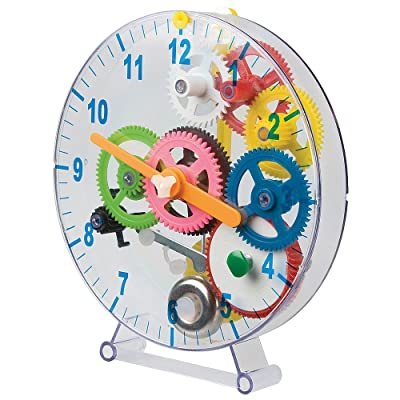 Tobar 12459 - Make Your Own Mechanical Clock 31 Pieces: Toys & Games