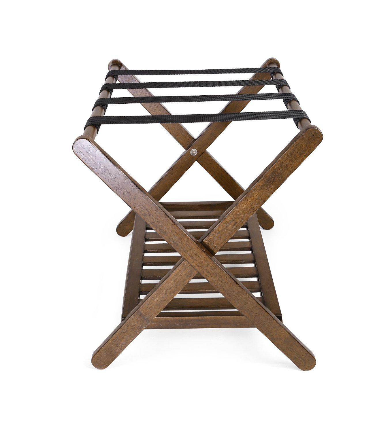 Classic Dining Chair in Solid Hardwood Foldable for Easy Transport Easy Tool-less Assembly Brown Wood Furniture for Living Room /& Office Penguin Home Espresso W47 x D54 x H91 cm