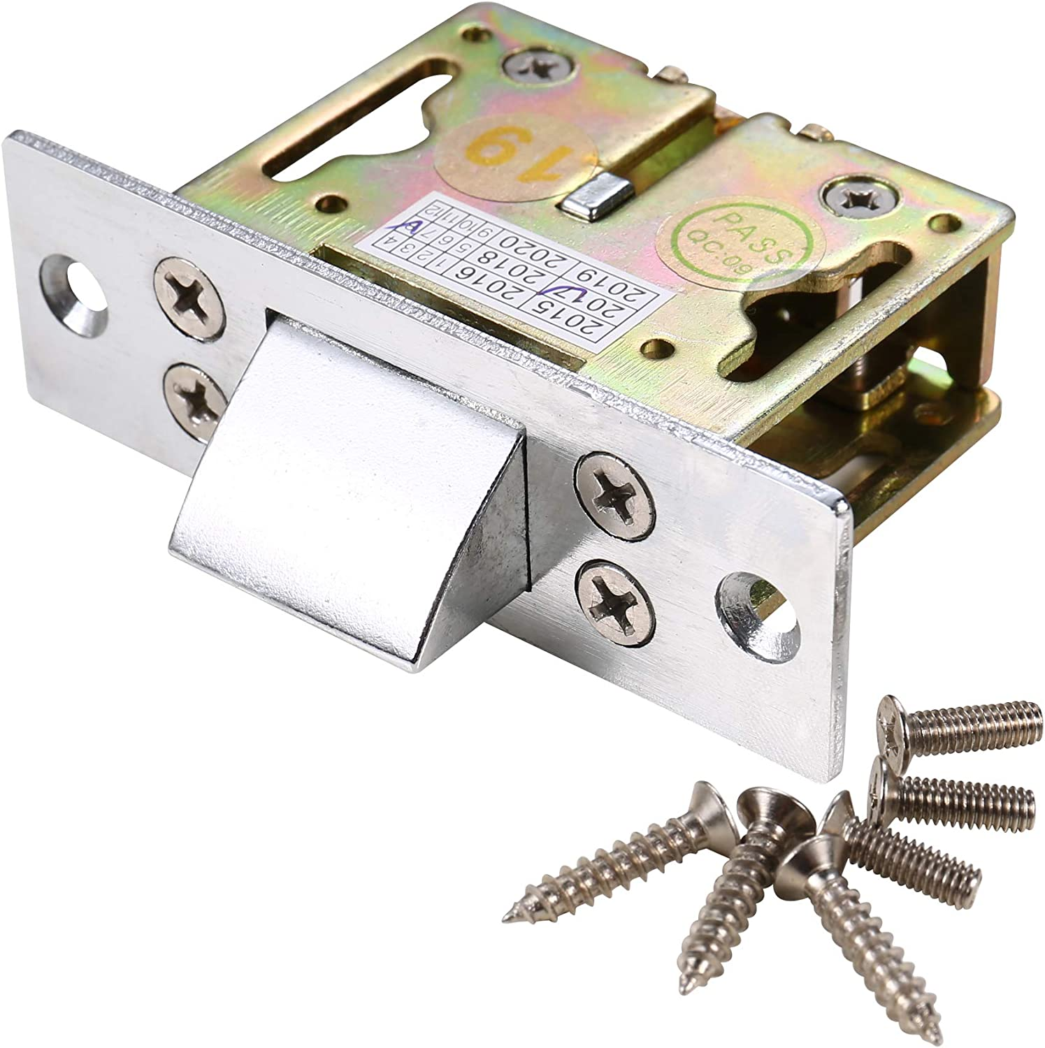 Mechanical Lock 2204lb Holding Force Compatiable With Electric Strike Gate Latch - -