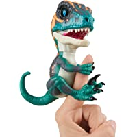 WowWee Fingerlings Untamed Velociraptor Fury (Blue)