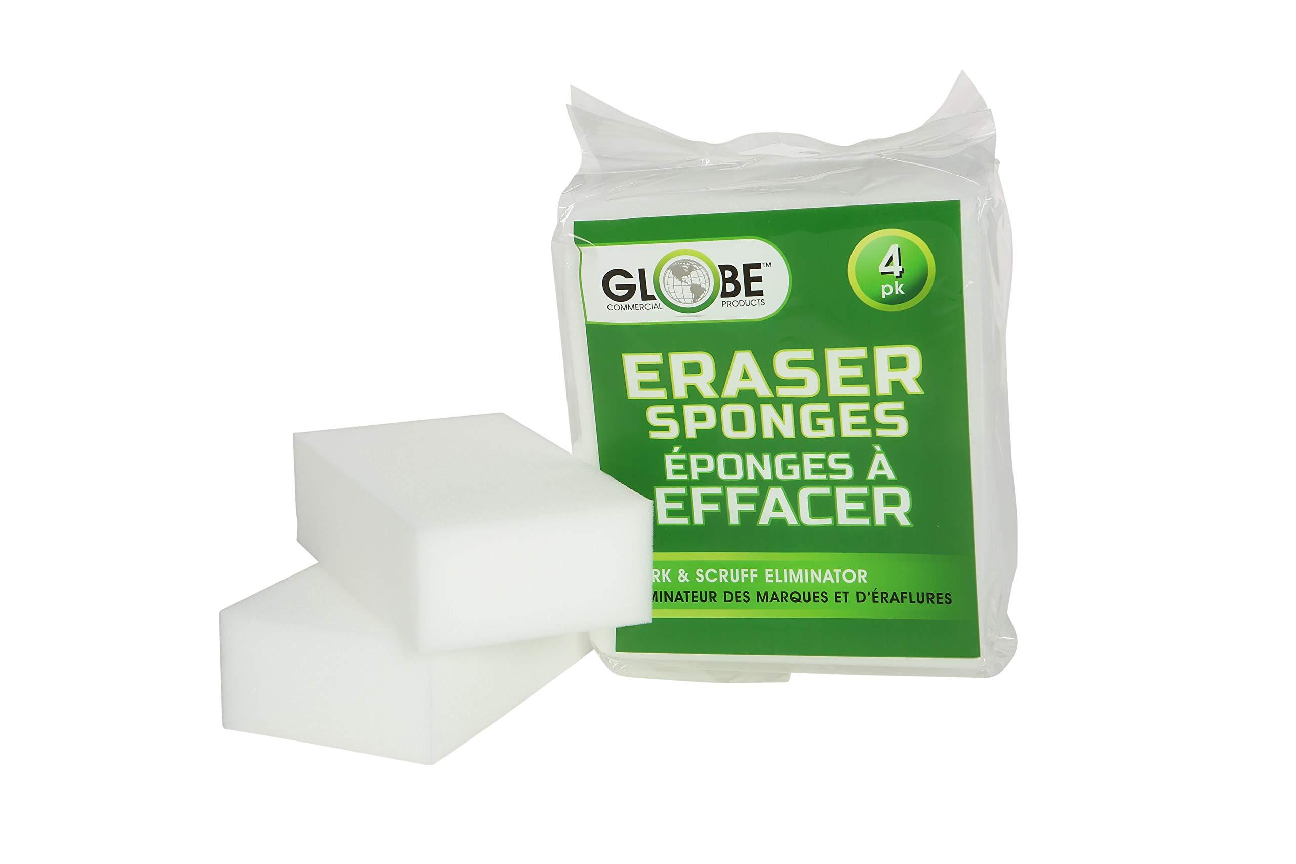 Globe Commercial Large Erase-It-Sponge (Pack of 4)