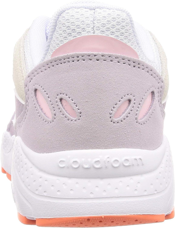 adidas Crazy Chaos Ladies Sneaker Blue Blanc Blanc Rose Corail