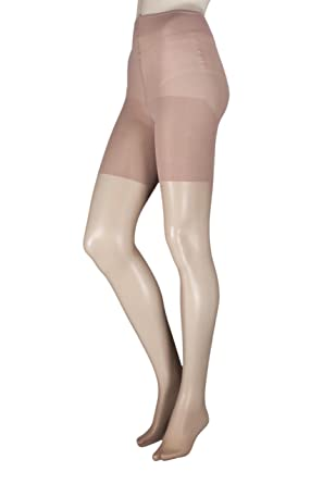 67c7cb60e Pretty Legs BLEX Ladies 1 Pair Xceptionelle Plus Size Lycra Tights   Amazon.co.uk  Clothing