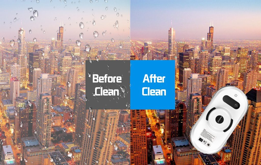 Judixy Window Cleaner Robot, Ultra-Fast Cleaning Speed for Inside and Outdoor by JUDIXY (Image #6)