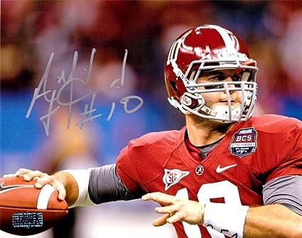Image Unavailable. Image not available for. Color  AJ McCarron Autographed Signed  Alabama Crimson Tide ... 7d6a77302