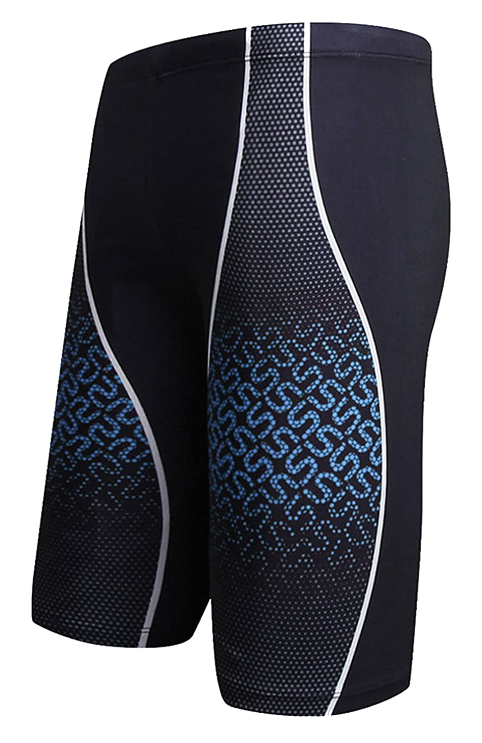 AIEOE Men's Swim Jammers Quick Dry Training Swim Jammer Swimsuit Trunk