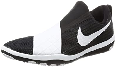 half off 9aef8 854f6 Nike Women s WMNS Free Connect, Black White, Size 6.5