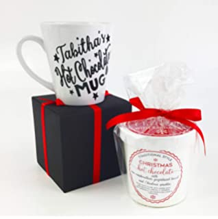 Personalised Hot Chocolate Mug Great Christmas Gift Amazon