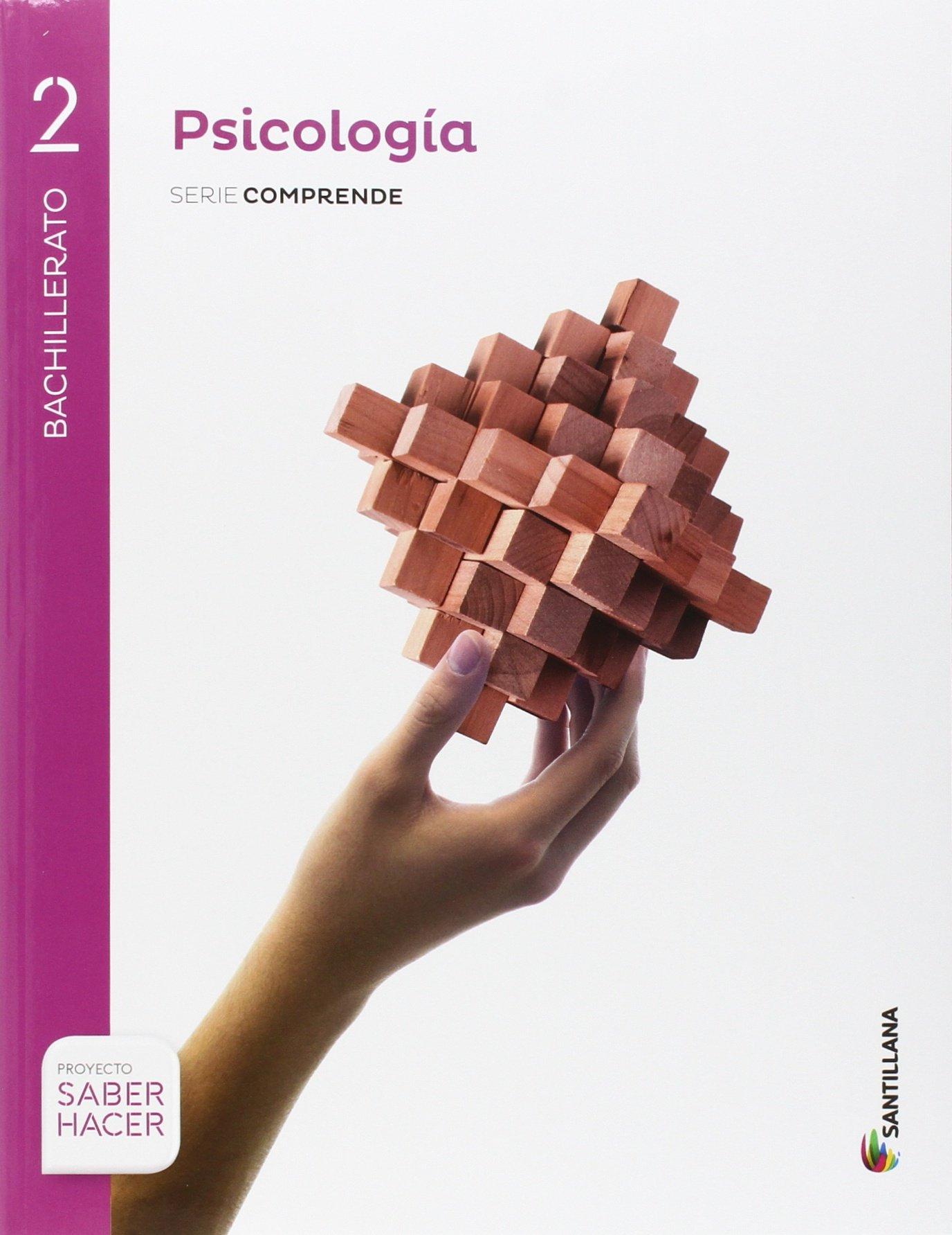 PSICOLOGÍA SERIE COMPRENDE 2 BTO SABER HACER - 9788468039909: Amazon.es: Aa.Vv.: Libros