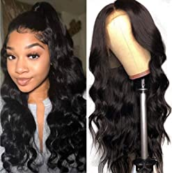 1938ca764 Beauty Forever Wigs Brazilian Virgin Body Wave 13x4 Lace Front Wig 100% Human  Hair Wig