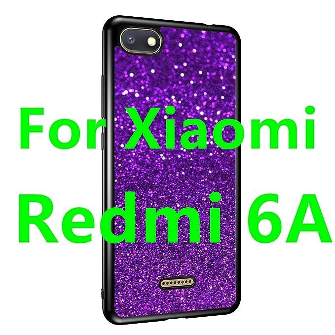 Amazon.com: Bling - Carcasa de TPU para Xiaomi Redmi 6A Case ...