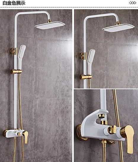 ZH Shower Set extensible sets baño mampara Ducha y accesorios de ...