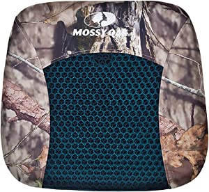 MOSSY Oak Honeycomb Gel Seat Cushion with Non-Slip Breathable Polyester Cover for Car Wheelchair Home Recliner - Coccyx Back Sciatica Pain Relief