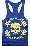 Gillbro Mens Muscle Workout T-Shirt Débardeur Bodybuilding