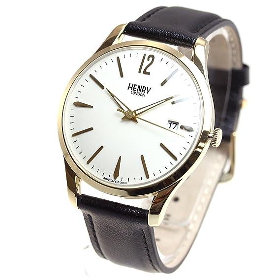 HENRY LONDON - Reloj para hombre y mujer WESTMINSTER HL39-S-0010: Amazon.es: Relojes