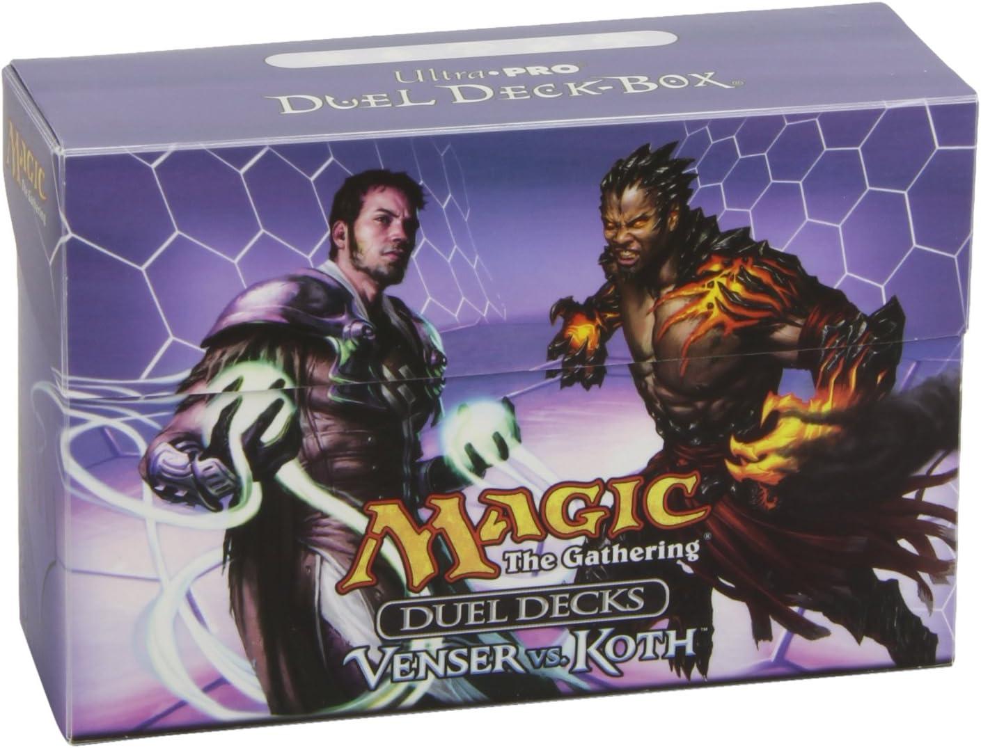 Ultra Pro Magic Duel Deck Box Venser vs Koth Dual Deck Box UP82926