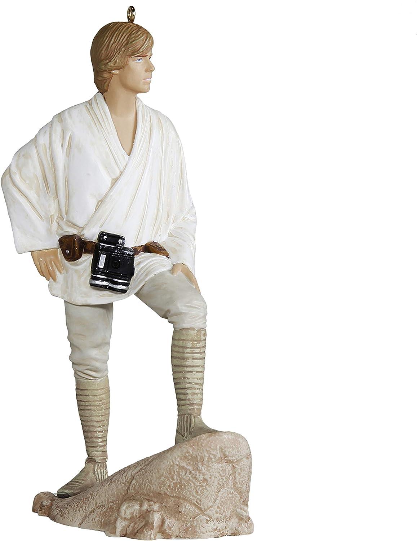 Hallmark Keepsake Christmas Ornament 2019 Year Dated Star Wars: A New Hope Luke Skywalker