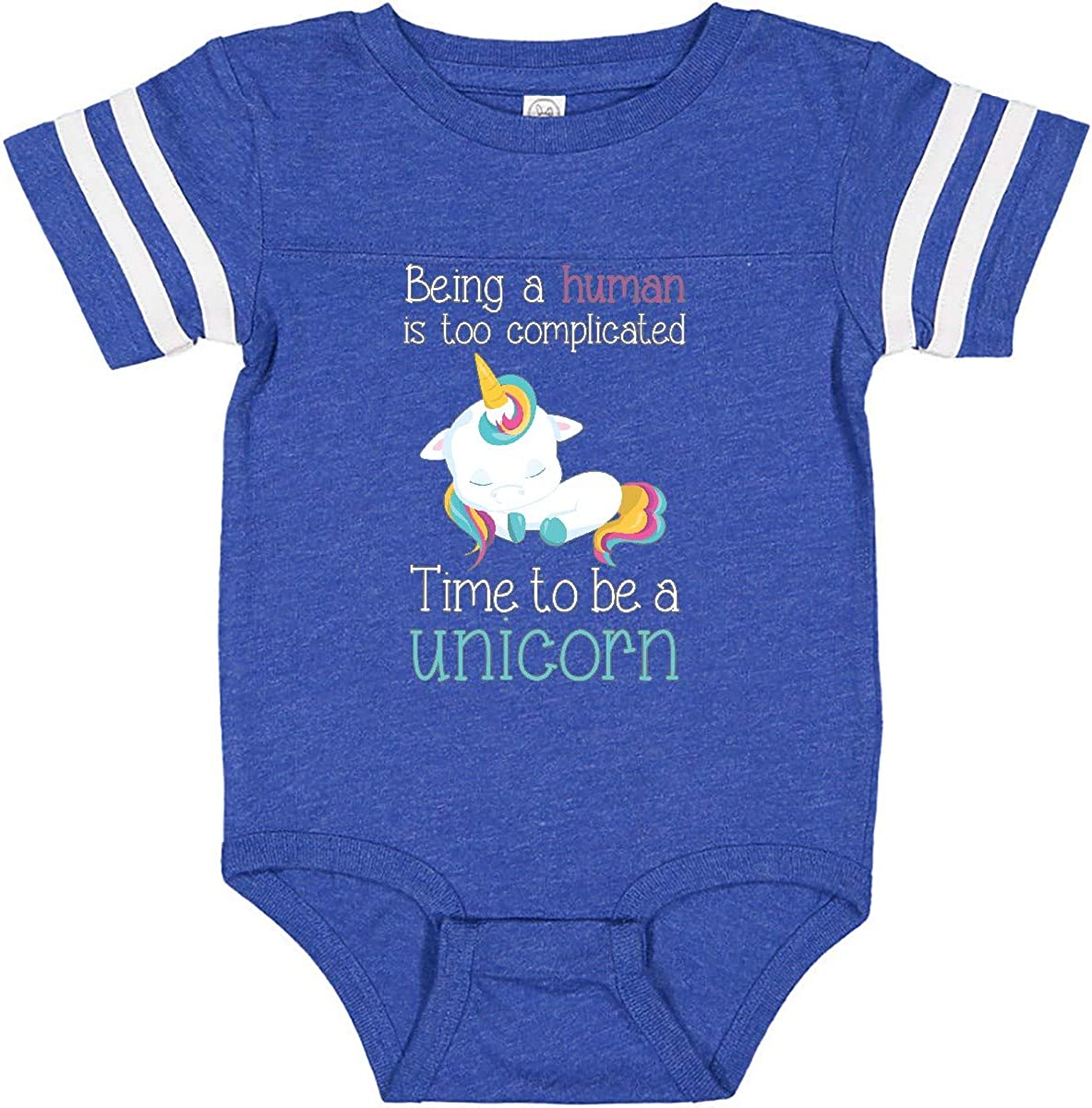inktastic Time to Be a Unicorn Infant Creeper