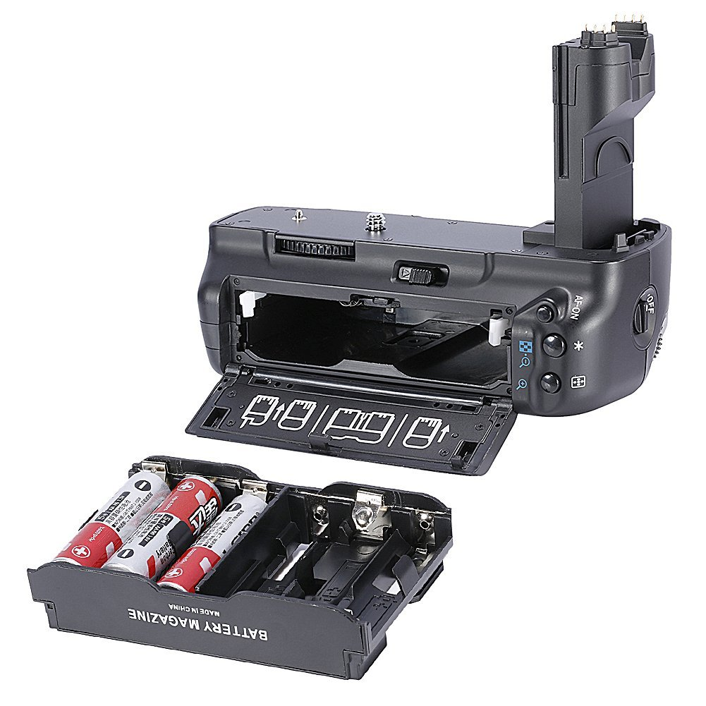 Neewer/® Vertical Multi Power BG-E6 Battery Grip for Canon EOS 5D MARK II 2 DSLR Camera Compatible with LP-E6 Battery