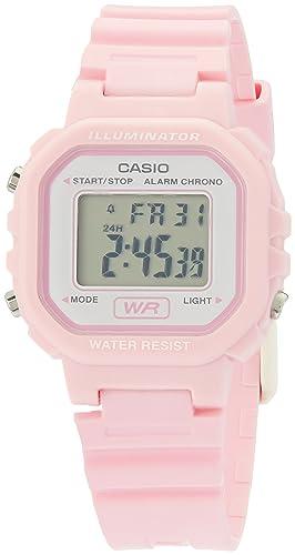 Casio LA20WH-4A1 - Reloj (Reloj de pulsera, Femenino, Rosa, Resina