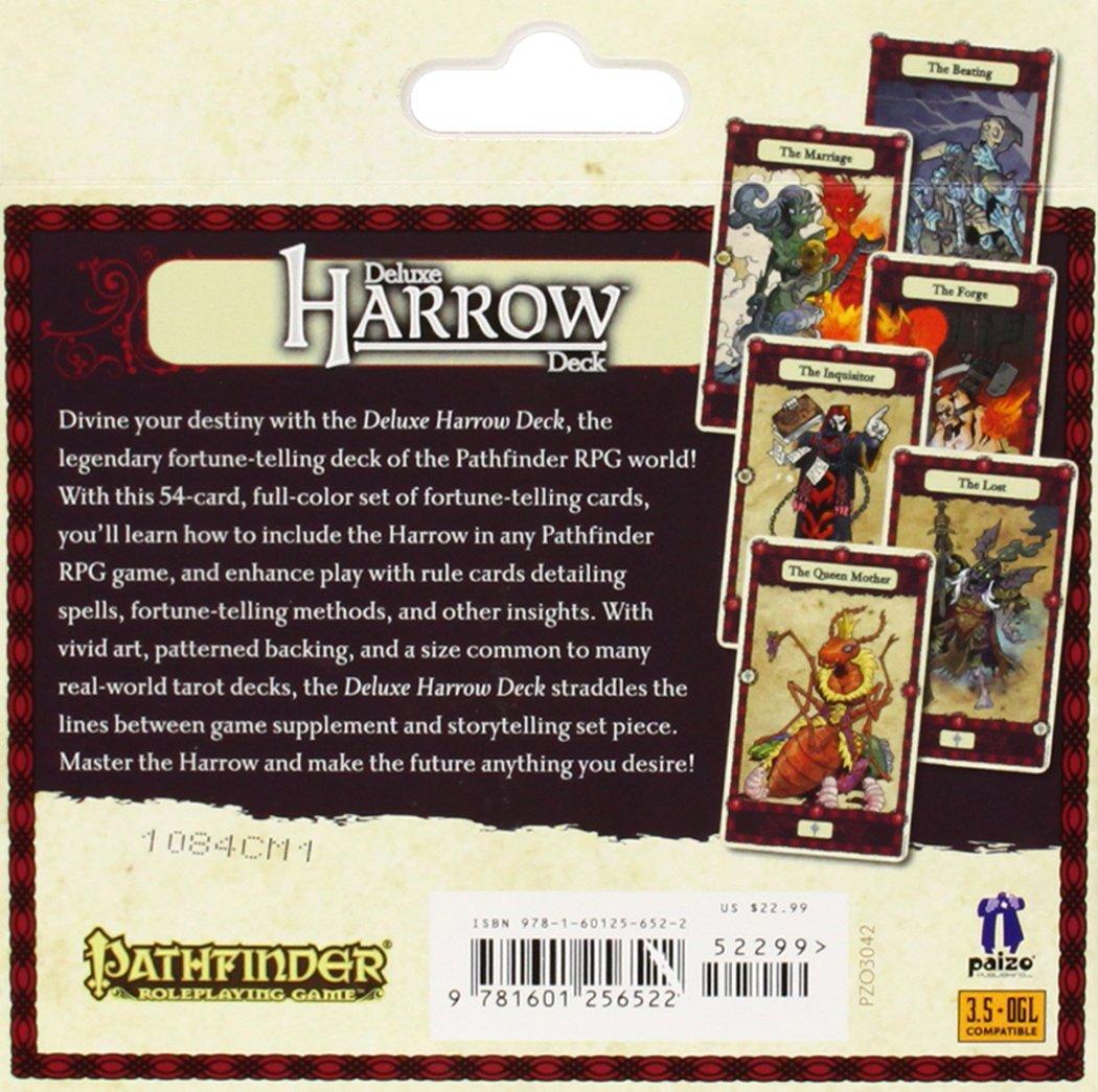 Pathfinder Tarjetas: Harrow Cubierta Deluxe [Import]