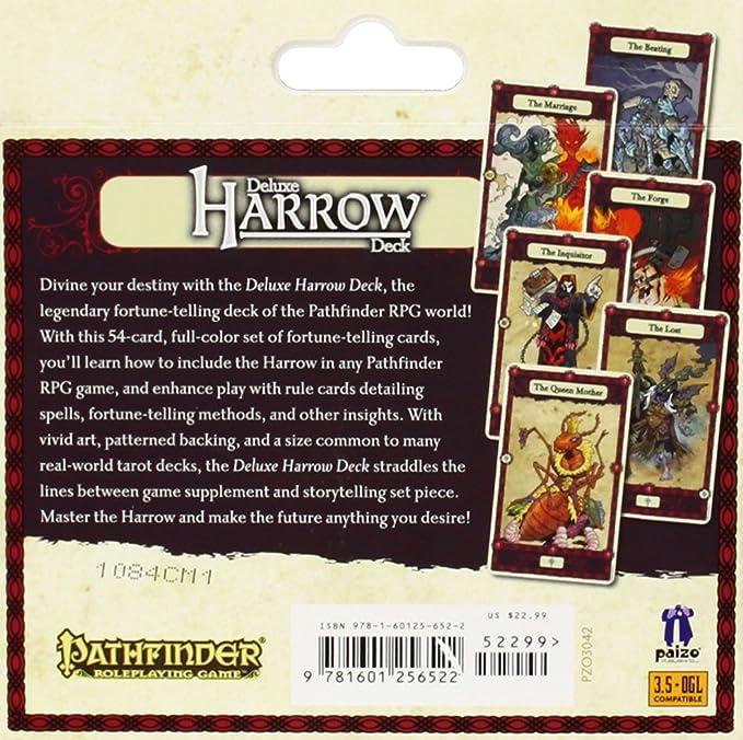 Pathfinder Campaign Cards: Deluxe Harrow Deck